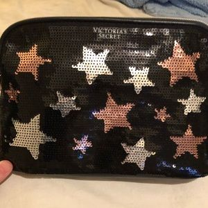 Victoria's Secret life of the party makeup bag